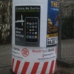 3gstore.de - erste Plakatsichtung in Berlin