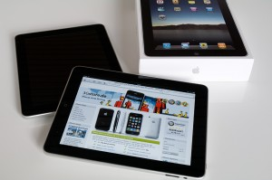 Apple iPad im 3Gstore.de - Browser, quer