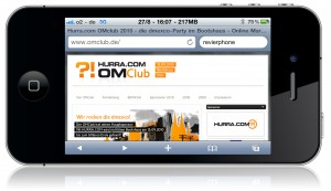 reVierphone SEO Contest zum Hurra.com OMClub